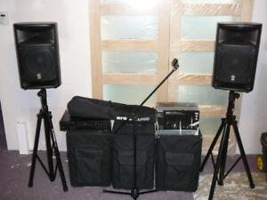 Système de sonorisation (PA-disco mobile...)