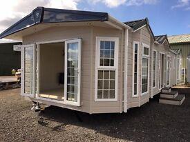 CRISTAL GRAND LODGE 45x15 two bedrooms - static caravan