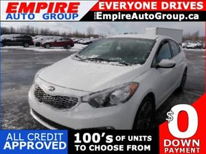 2014 KIA FORTE EX * HEATED SEATS * ONSTAR * VOCAL ASSIST *