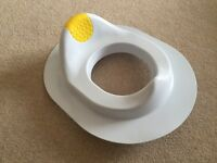 Child's toilet seat and toilet step