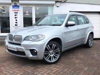2011 11 BMW X5 3.0d XDRIVE40D M SPORT AUTO~VERY LOW MILEAGE~TWIN TURBO~