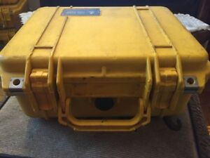 $20 each. Pelican case. Model 1400. (38 available)