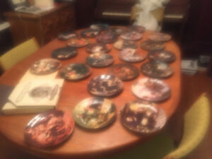 Norman Rockwell - Heritage Plate Collection #1 through #24!