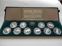 Proof Set 10 $20 Olympic Coins