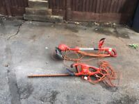 Hedge cutter and strimmer