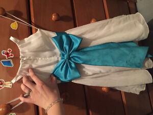 Girl size 4 David's bridal dress wedding or for specia occasion
