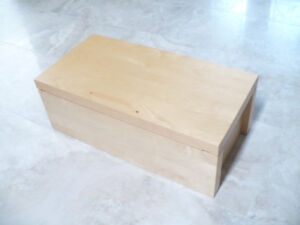 IKEA toy box, bench, craft table