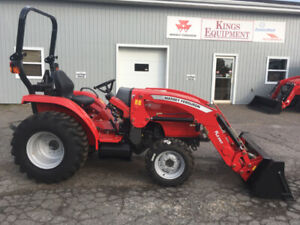 Massey Ferguson - 34hp Tractor-Loader - BEST PRICING OF THE YEAR