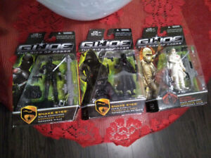 Brand new G.I.Joe the rise of cobra action figures for sale!