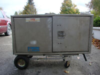 Trailer or Truck side mount tool boxes with Stainless Locks