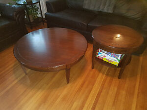 Livingroom coffee table and end table