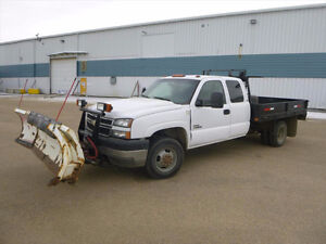 2006 Chevy Plow Truck UP FOR AUCTION