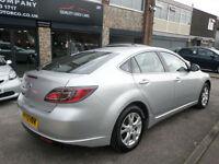 2009 Mazda Mazda6 1.8 ( 120ps ) TS 5DR 59 REG Petrol Silver