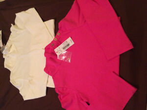 NEW with tags 2 turtlenecks size 5