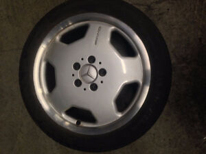 225 45 17 Tires with Mercedes AMG Rims