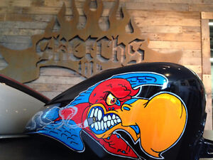 Motorcycle Custom Paint and Hydrographics by Sketchs Ink Gatineau Ottawa / Gatineau Area image 8
