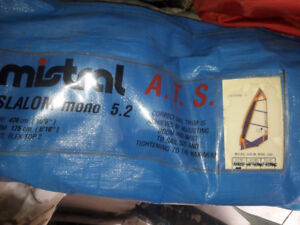 windsurf sails , mast and booms for sale