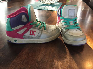 Girls DC high top