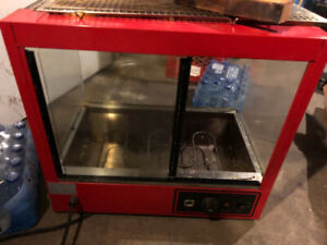 Commercial Counter Top Food Pizza Pastry Warmer