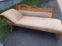 Antique Chaise - $80 OBO