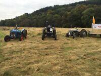 WANTED - Vintage tractor - Ferguson Fergie Fordson Brown International