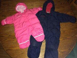 Columbia Infant Snuggly Bunny 1 piece snowsuit size 6 mo & 24 mo Gatineau Ottawa / Gatineau Area image 1