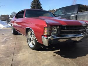 1971 Chevelle Malibu, Very Clean, Barley Driven