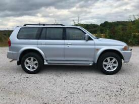 54 MITSUBISHI SHOGUN SPORT 3.0 V6 AUTO WARRIOR LOW 49K ONE OWNER FSH PX SWAPS
