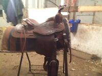 Nice one of a kind western saddle