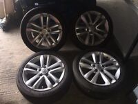 Genuine 17inch Vauxhall Vectra SRI Alloys