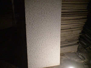 used 2X4 ceiling tiles and LOTS of track -STRATHROY