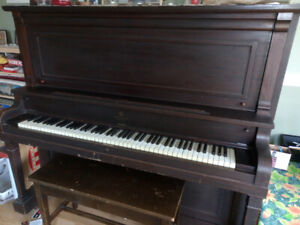 Piano with cash!
