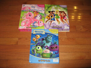My Busy Books: - Monsters , My Little Pony and Tinkerbell