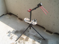 Bicycle Repair Stand, collapsible, extends 37-42in