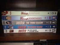 DEXTER- Season 1 to 5
