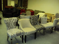 DINNING/ ACCENT CHAIRS & CUSTOM FURNITURE SALE CALL 416-779-7651