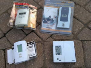 Programmable thermostats - unused