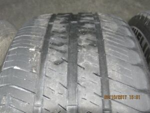 4 steel rims & tires