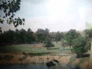 "Hugh Cummings ""Sauble River"" 1900's Hand Colored Photograph Stratford Kitchener Area image 9"