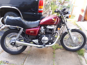 1984 Honda CM 450, like new Collectible