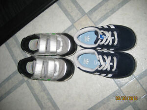 boys shoes silver size 7 available