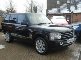 2004 54 Reg Land Rover Range Rover 3.0 Td6 Auto HSE