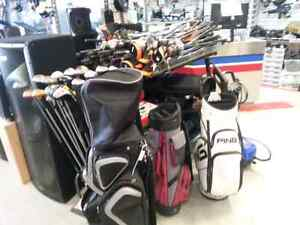Busters has used golf clubs! Come in and get a deal today