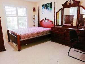 Hwy7/Warden Furnished Townhouse Master bedroom  immediately