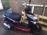 Lexmoto Echo 50 cc moped