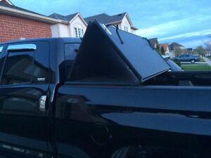 Toyota Tundra Tri Fold Tonneau Cover London Ontario image 5