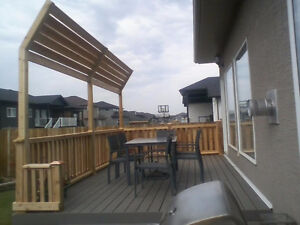Building Decks, Fences and landscaping...Call Today