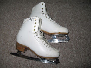 Girls Don Jackson Figure Skates, Size 4C