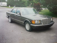 Classic Mercedes 380SE  for collector