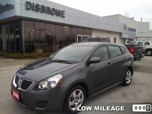 2009 Pontiac Vibe SE  Trade-In, Low Mileage, Great Condition!